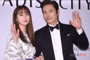 Lee Byung-Hun and his wife