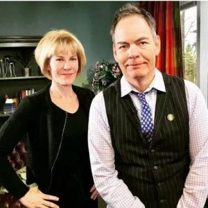 Max Keiser with his wife