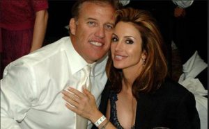 Suzy Kolber with her husband